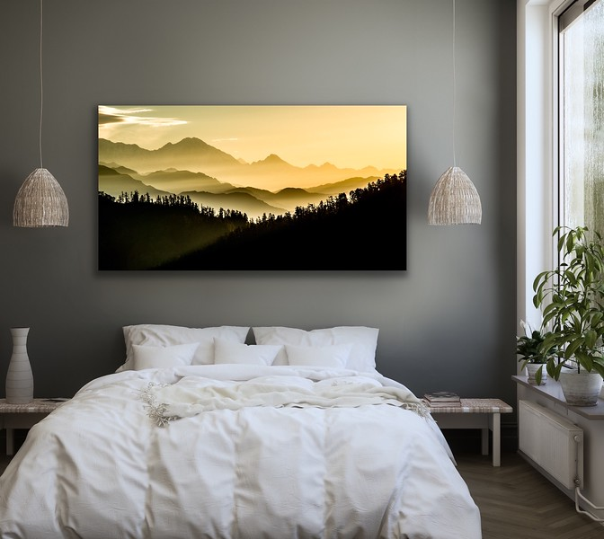'A New Day' Canvas Wrap or Float Mount Metal Print