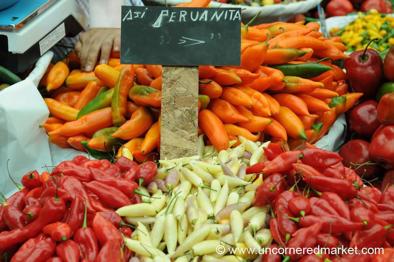 Peruvian Chilies - Mistura Gastronomy Festival in Lima, Peru