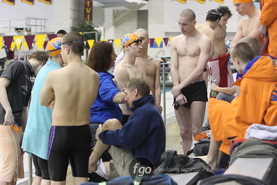 2008 Section 2A Swim Finals at U of M 2-22-08