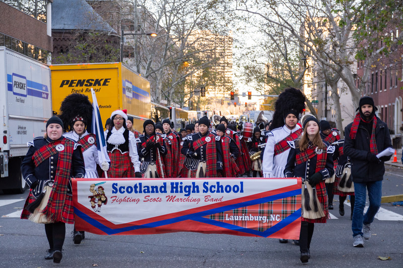 Scotland HS Marching Band in Philadelphia