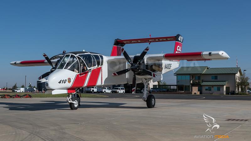 CAL Fire / North American OV-10A Bronco / N400DF