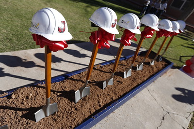 Bond 2016 Groundbreaking at Jefferson/Silva High School