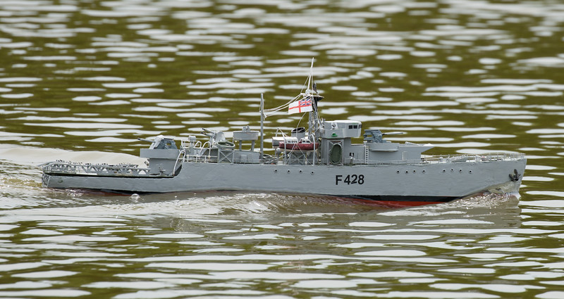 F428, Frigate, HMS Loch Alvie, Navy Day 2017, Richard Coombs, SRCMBC, Setley Pond, Solent Radio Control Model Boat Club