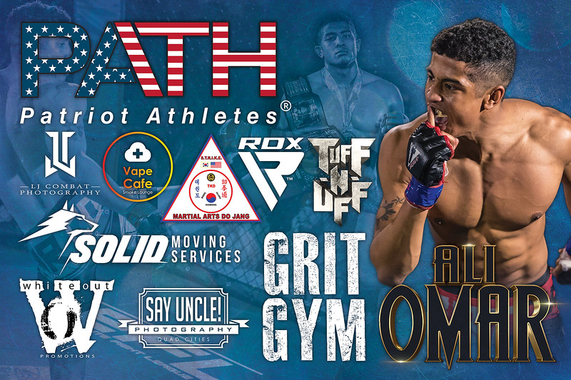 Fight Sponsorship Banner For Ali Omar