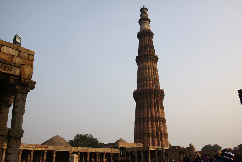 Qutb Minar is victory tower celebrating the arrival of Islam in Hinustan (India) in11th century
