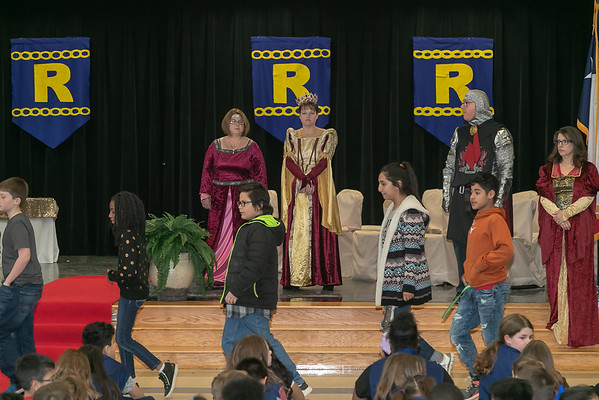 Rockdale ISD First Act Knighting 2-2019