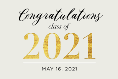 Class of 2021 5/16/21