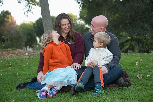 Gardner Family Photos at Park, Nov 2018