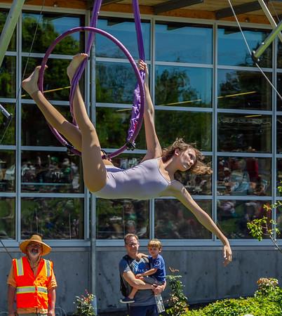 Set four, UMO Aerial Show 1 at Ober Park, Vashon Island Strawberry Festival 2019