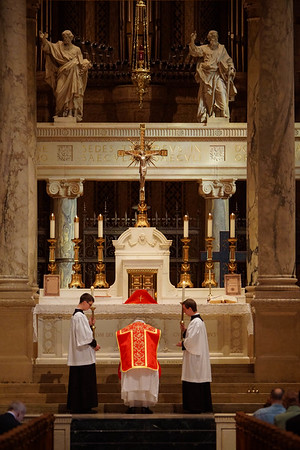 Dominican Rite Mass, Basilica of St. Mary