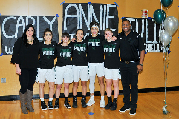 Girls Senior Night