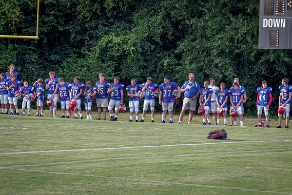 HHA JV vs Clarendon Hall Football 9-15-16
