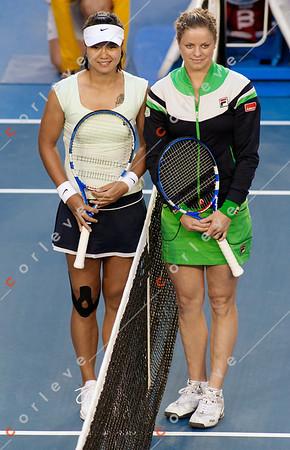 Womens Final - Kim Clijsters vs Li Na