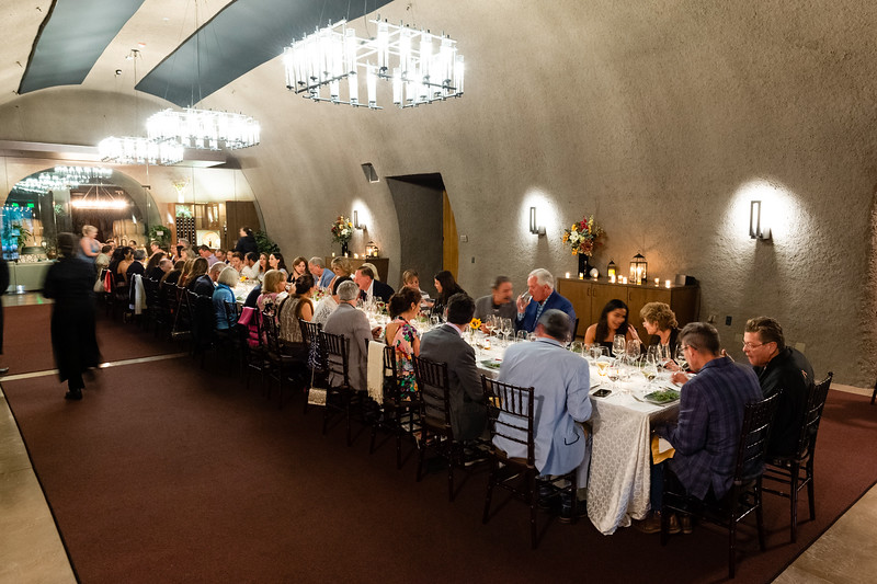 Patron Dinner at B Cellars