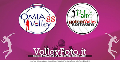 Omia Volley 88 Cisterna di Latina - Golem Software Palmi Volley