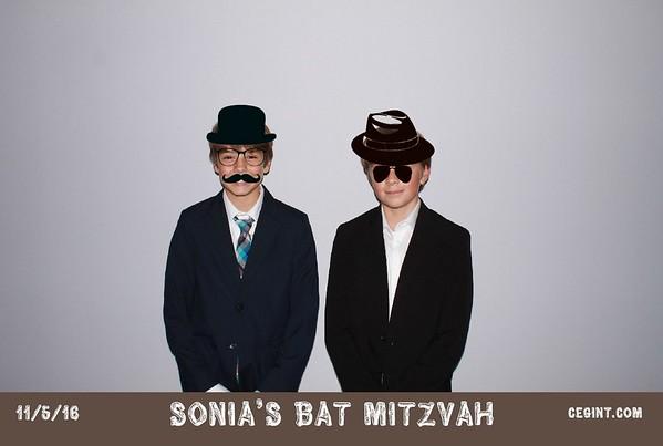 2016-11-05 Sonia's Bat Mitzvah