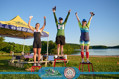 Prerace and podium--Wednesday Wonders Sprint Triathlon 6/23/21