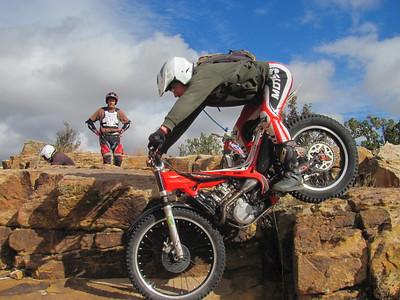 San Ysidro Trials Area - Trials Practice  11-29-15