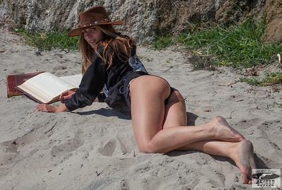 Canon 5D Photos of Beautiful Brunette Swimsuit Bikini Model Goddess! Pretty Green Eyes!
