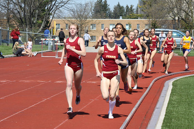 Women's 1500 Meters - 2012 Ferris State Invitational