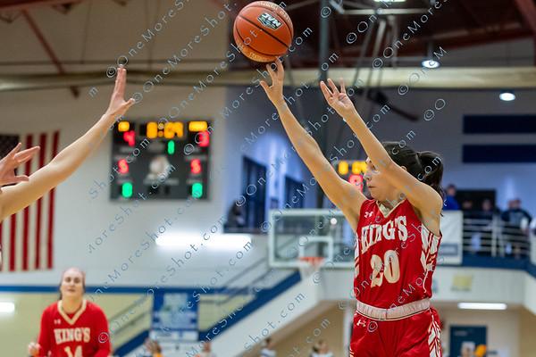 King's College Women's Basketball vs Misercordia 02/26/2020