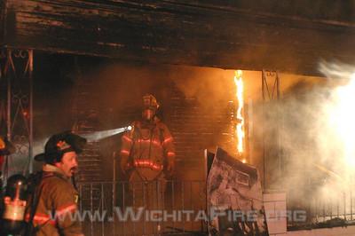 House Fire 1201 S. Lulu (12/22/08)