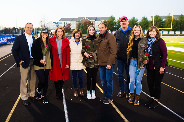 Senior Night Nov 1 2019