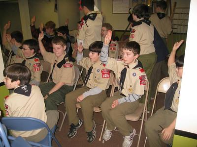 Troop Meeting - Nov 24