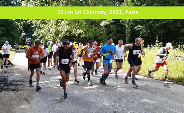 50 km Sri Chinmoy 2021