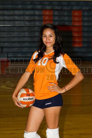 Girls JV Volleyball #10 - 2014