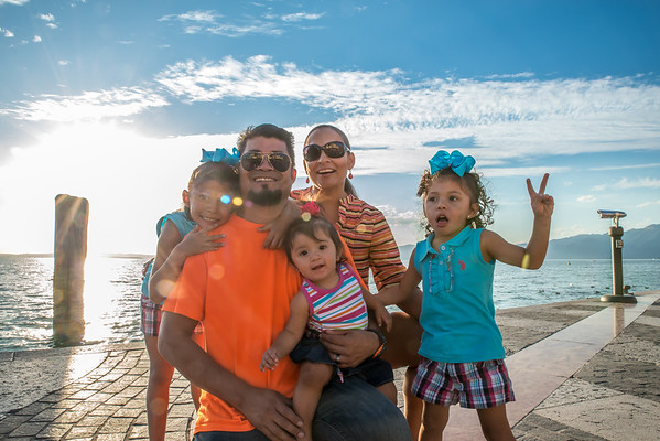 Michelle Family Photos Italy 2015