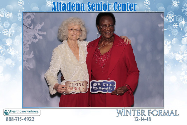 Altadena Senior Center Winter Fomal Dance 2018