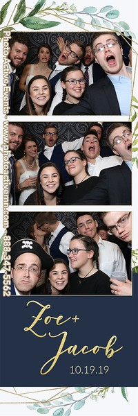 2019-10-19 St Francis Parish Wedding Photo Booth Brainerd MN