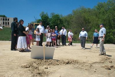 Community Life - Parish Visit to New Property - May 6, 2012