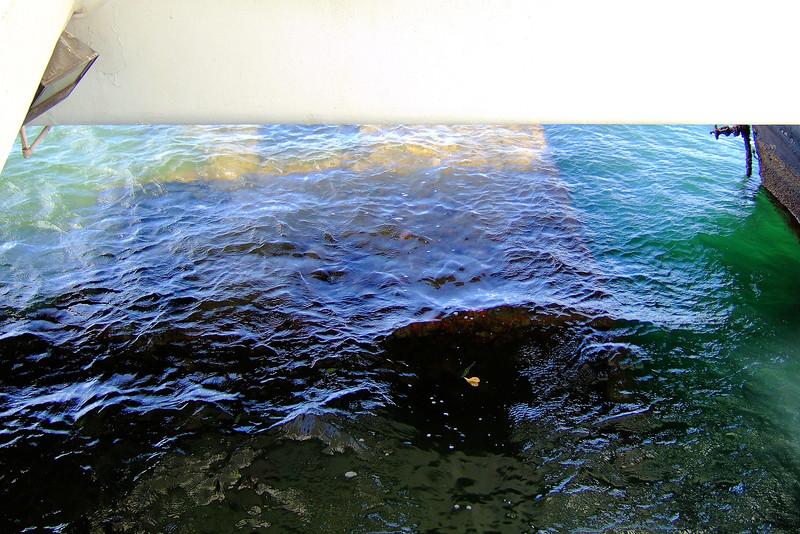 Pearl Harbor-Arizona Memorial-Oil Seepage