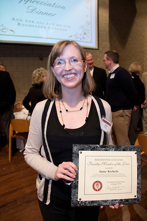 Staff & Faculty Member of the Year