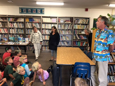 2018-05-31 Book Distribution at Mountain Elementary School