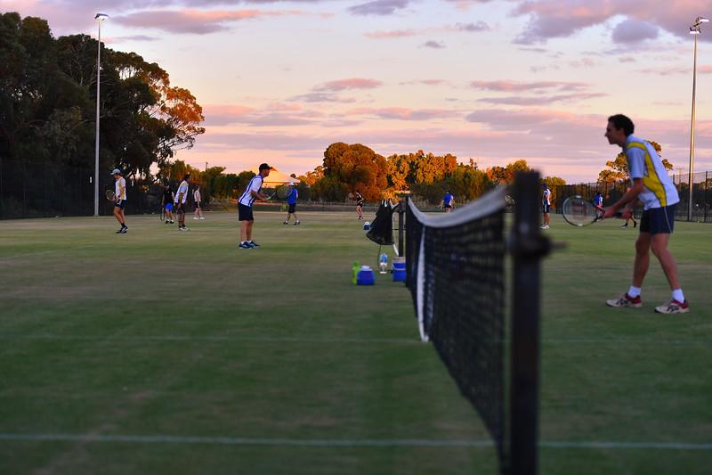 Night tennis returns to Berri