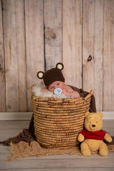 Bobby Newborn Photoshoot