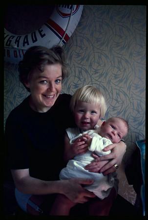 "1967 Rumänien: Boris' Geburt, Anne ""Romy Schneider"", Otto ""OLiBa"" - unbearbeitet"
