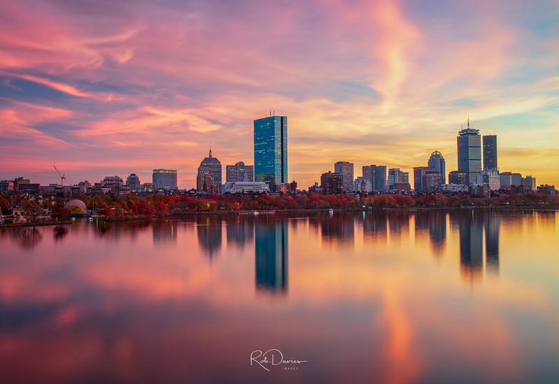 Boston Skyline in November