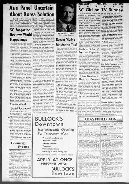 Summer News, Vol. 8, No. 10, July 24, 1953