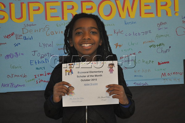 Bal October Students of the Month