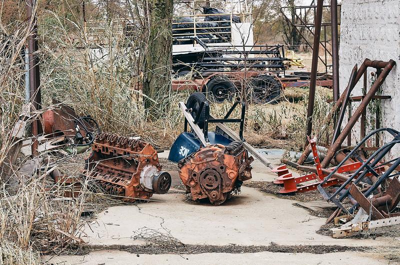 Route 66 - Texola Ghost Town, Oklahoma