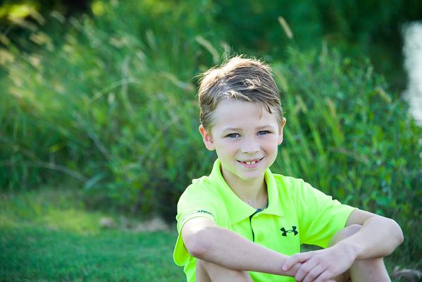 Warren - Drew 8 Year Old Shots - 9.2017
