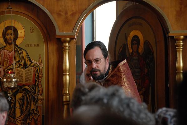 His Grace Bishop Jerome of Manhattan visit