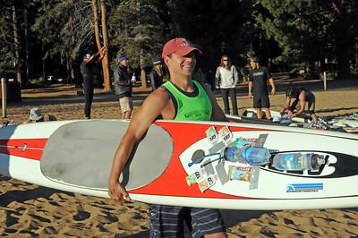 Lake Tahoe Fall Classic Paddle Board Race 9-26-10