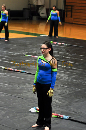 "Parkview HS Winter Guard ""Emerald"""