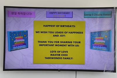 10-12-2019 Olivia Ortiz 4th Birthday @ Master Choi Taekwondo-Frisco