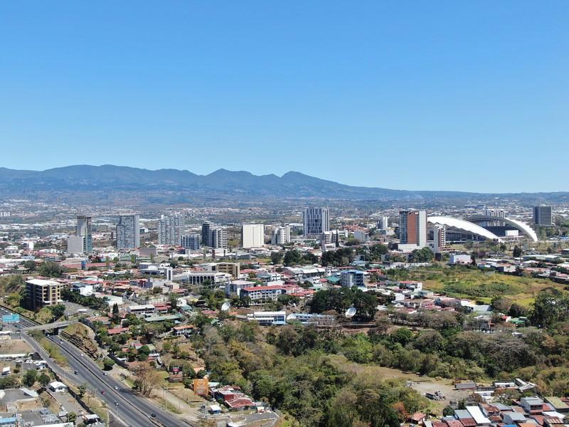 Vista de La Sabana, Estadio Nacional y Circumvalacion